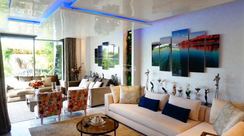 Villa meublée à louer sur Bouskoura 850 m²